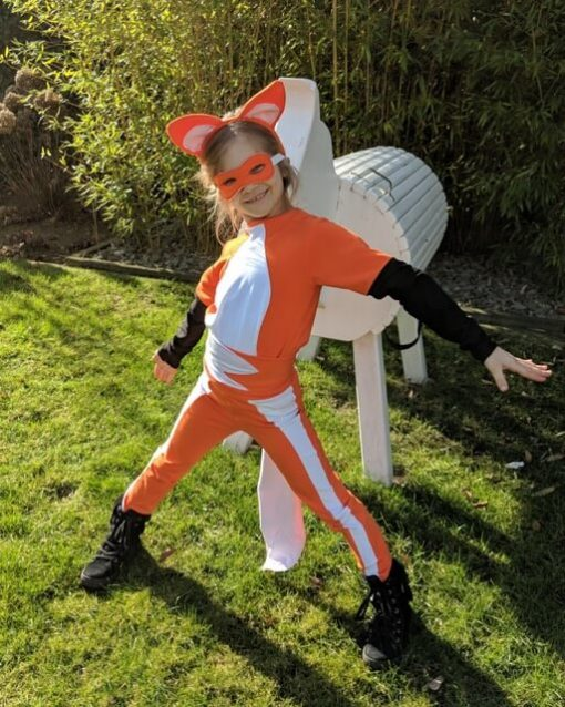 Ladybug Kostüm Volpina Schnittmuster Zierstoff