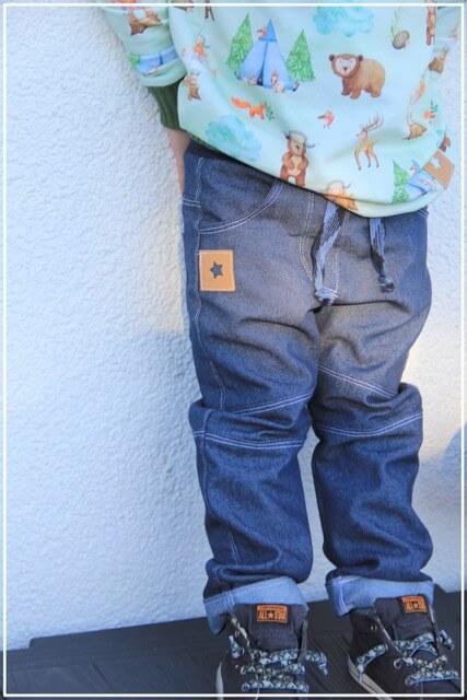 Schnittmuster Kinderhose Kjell Jungenhose 1