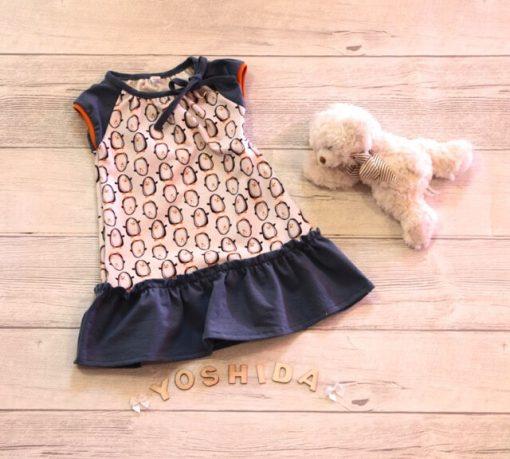 Schnittmuster Kinderkleid Gianna Zierstoff Jerseykleid