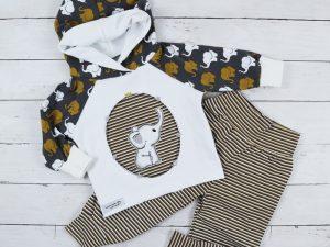Shirt mit Zwergenmütze – Schnittmuster Erik für Kinder nähen