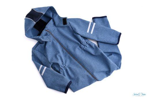 softshell-Overall-Zierstoff-Kinderanzug