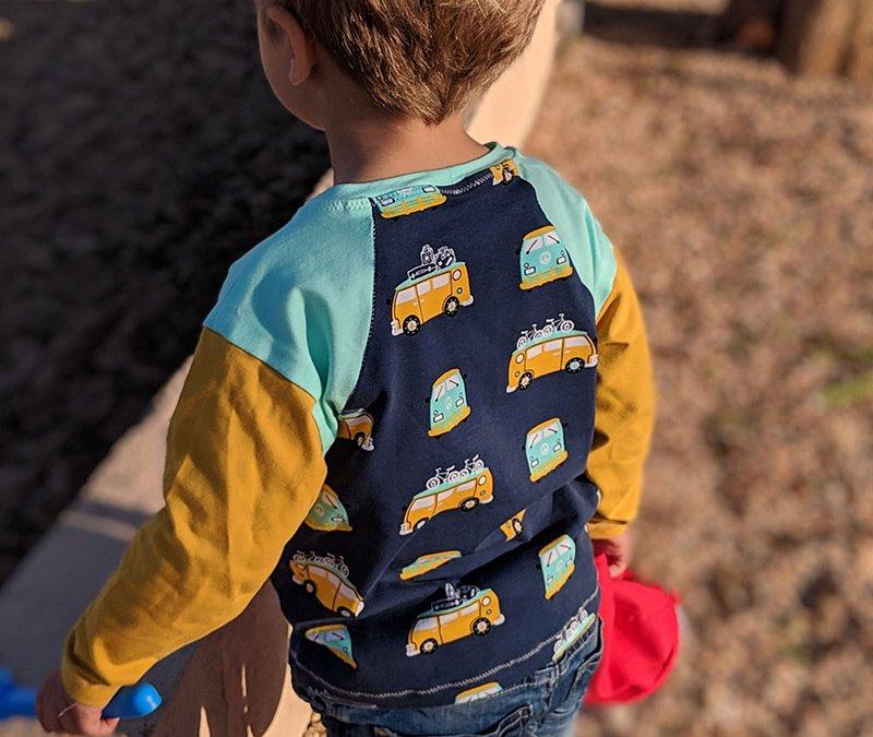 Neues Schnittmuster für Kinder – Unisex Shirt Andy