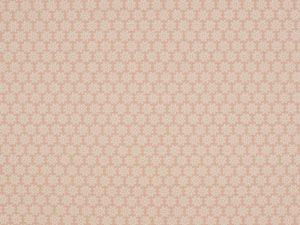Jersey, weiße Blumen auf Rosa, Restposten zum Sonderpreis 0,42 Meter
