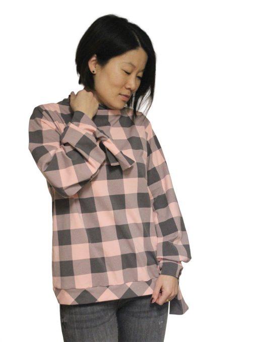 Schnittmuster-Damenshirt-Bluse-Manschette-Margarete-Zierstoff14