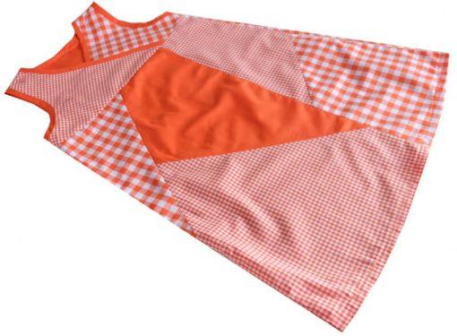 Schnittmuster-Kinderkleid-Filiz-Zierstoff-Baumwollkleid