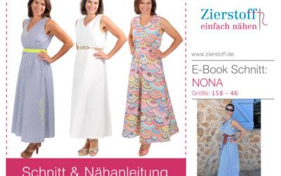 Schnittmuster Kleid Nona – jetzt auch mit Video