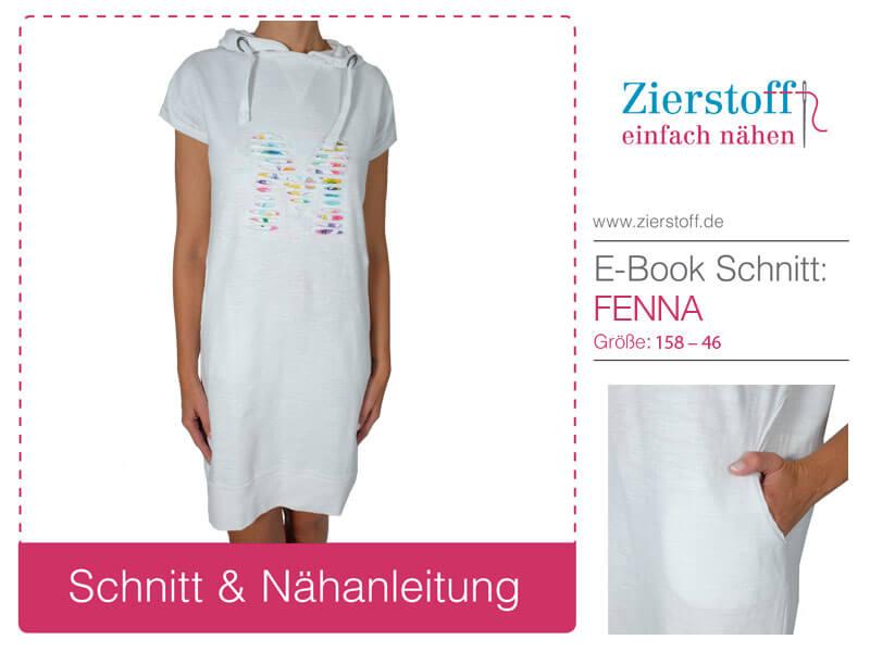 """Schnittmuster Sweatshirtkleid """"Fenna"""" für Kinder und Damen!"""