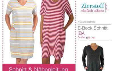 """Schnittmuster Sommerkleid """"IBA"""" für Kinder und Damen!"""