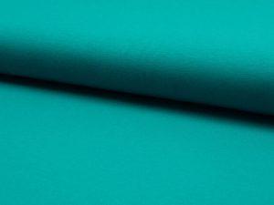 Viskosejersey-Zierstoff-Smaragd