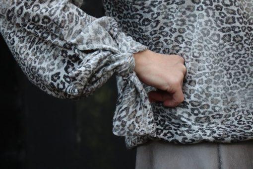 Schnittmuster Shirt Margarete und Rock Laila Zierstoff08