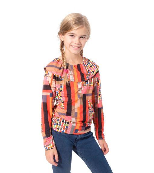 Shirt-Lenya-Kindershirt-Rüschen-Kragen