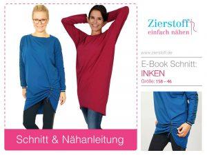Schnittmuster Kinderkleid Inken, Jerseykleid für Mädchen und Damen