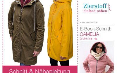 Schnittmuster Regenjacke Camelia jetzt auch für Damen