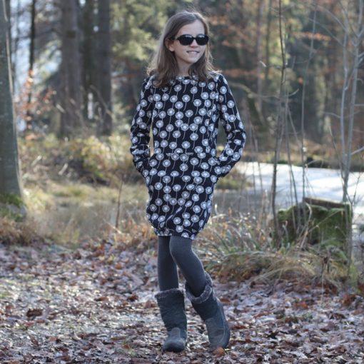 Jerseykleid Kinderkleid Schnittmuster zierstoff Agneta3