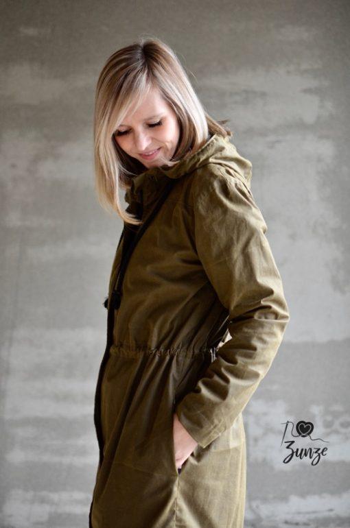 Schnittmuster Jacke Damenjacke Oilskin Jacke Camelia1