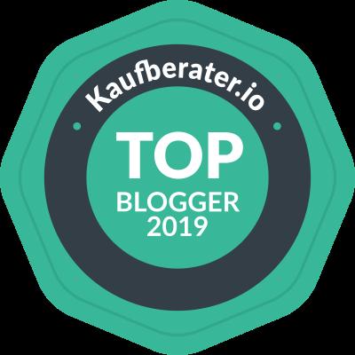 Herzlichen Dank für die Auszeichnung Top Blogger 2019