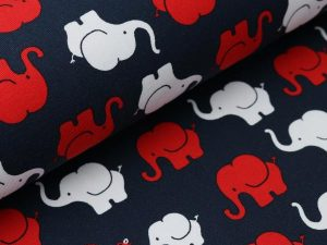 stoff Elefantenparade Jersey