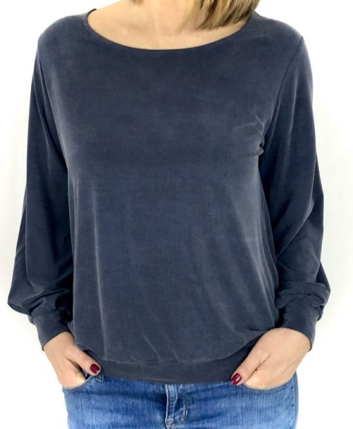 Schnittmuster Shirt Margarete Zierstoff Bluse nähen1