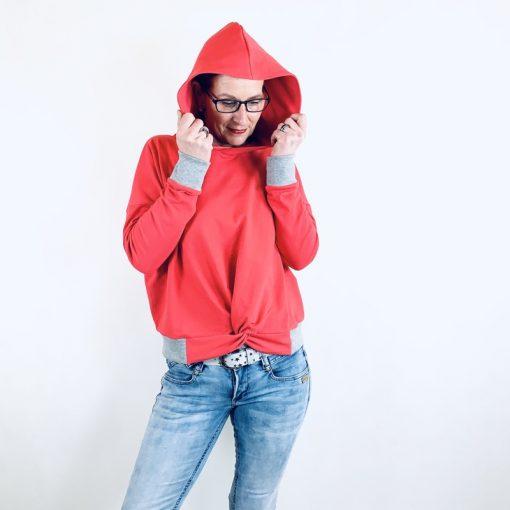 Schnittmuster Zierstoff Sweatshirt Hoodie Damen Frederike 6