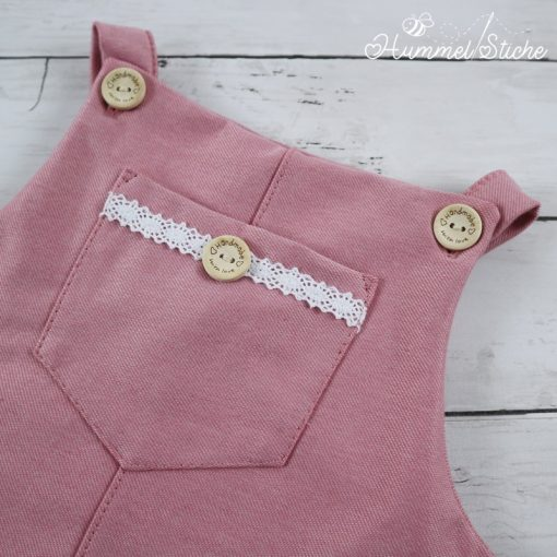 Latzkleid Schnittmuster Kinderkleid Berit Cordkleid2