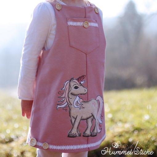 Latzkleid Schnittmuster Kinderkleid Berit Cordkleid5