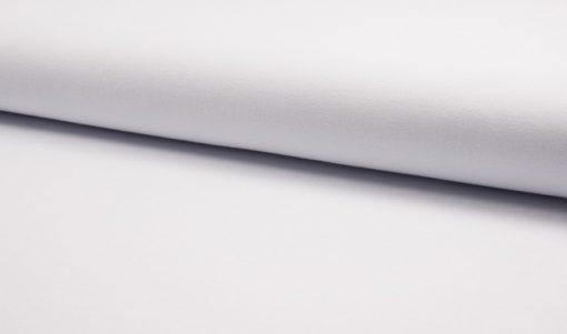 Jersey Stoff Polo Pique weiß