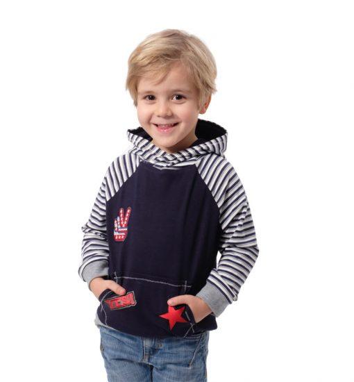Schnittmuster-Kindershirt-Zwergenkapuze-Kapuzenshirt-Hoodie-Erik
