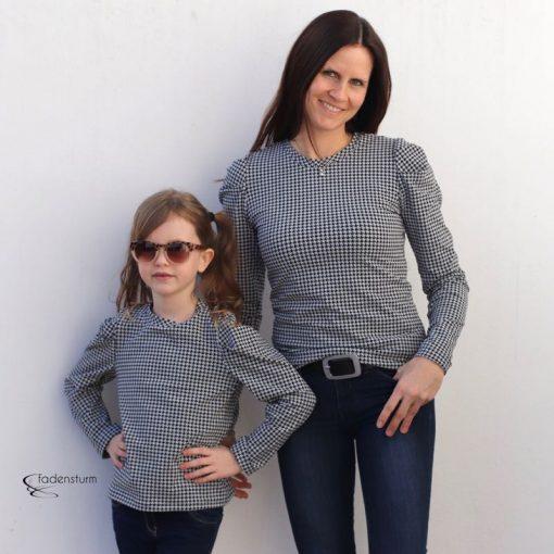 Schnittmuster Shirt Jenna 1106 und 3000_112 Zierstoff17