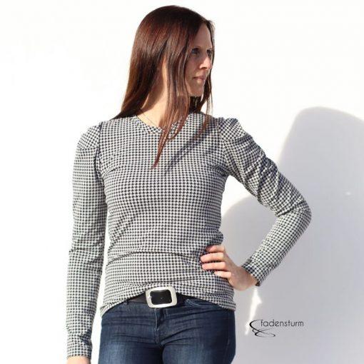 Schnittmuster Shirt Jenna 1106 und 3000_112 Zierstoff12