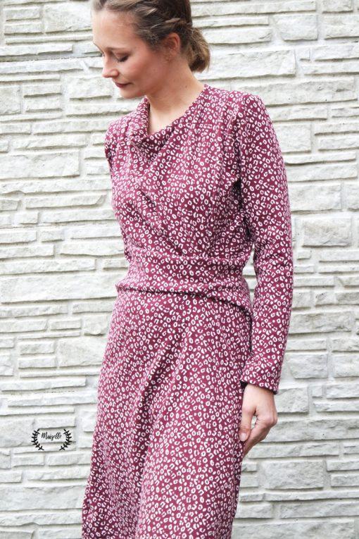 Kleid Jessica Zierstoff Schnittmuster Damenkleid
