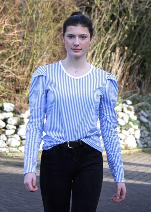 Schnittmuster Zierstoff Jenna Damenshirt5