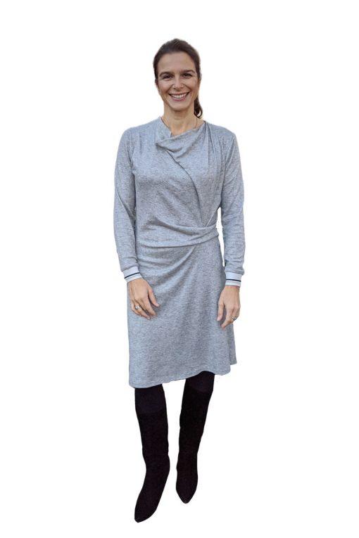 Schnittmuster-Zierstoff-Kleid-Jessica-Damenkleid-Jerseykleid