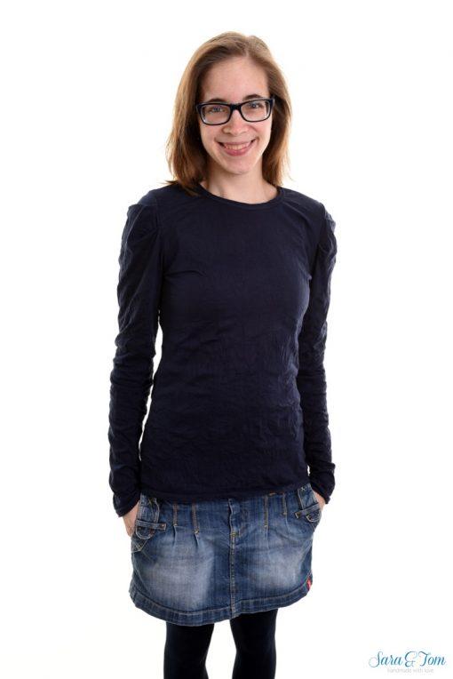 Schnittmuster Zierstoff Shirt Damenshirt Jenna nähen1