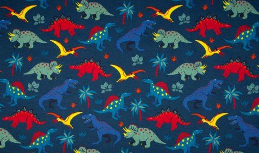 Jerseystoff Dinosauirer Dinos