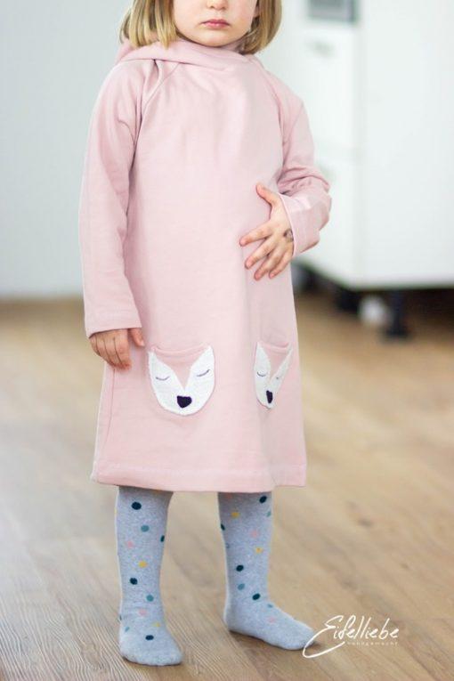 Schnittmuster Kleid Kinderkleid Hoodiekleid Aurelia01