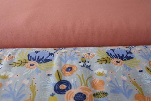 Schnittmuster Zierstoff Jersey Blumen Motiv3