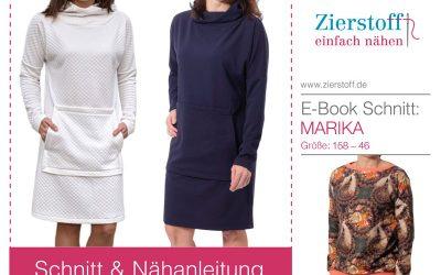 Schnittmuster Kleid Marika – für Damen und Kinder