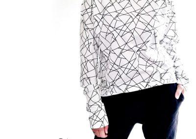 Schnittmuster Shirt Doro Zierstoff Raglanshirt nähen1