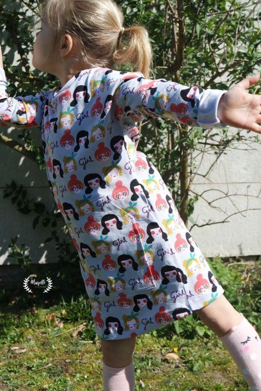 Schnittmuster Kinderkleid Marika Zierstoff4