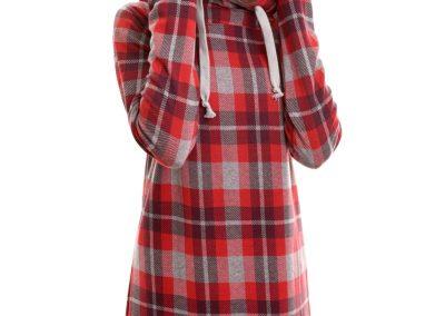 Schnittmuster Hoodiekleid Sweatshirtkleid Marika Zierstoff