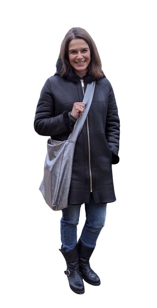 Schnittmuster Zierstoff Shopper Einkaufstasche Mandy Tasche nähen1