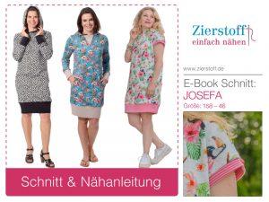 Schnittmuster Josefa – für die Damen und die kleinen Ladys…..