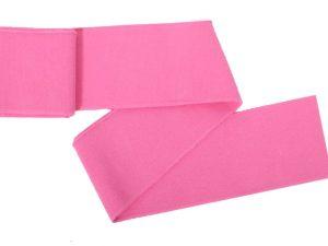 Collegebündchen-unifarben-Pink