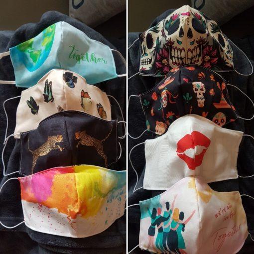 Panel Masken nähen3