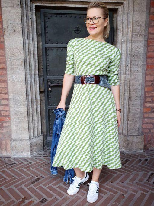Schnittmuster Kleid Santina