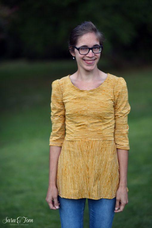 Schnittmuster Kleid Santina nähen lernen3