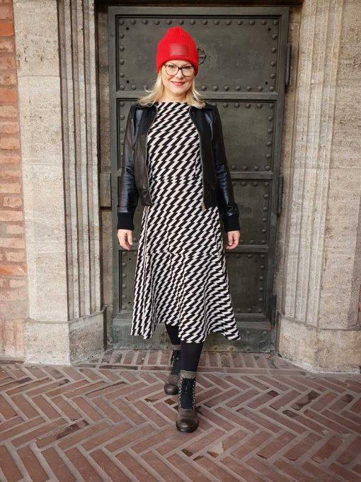 Schnittmuster Kleid Santina nähen eiinfachh