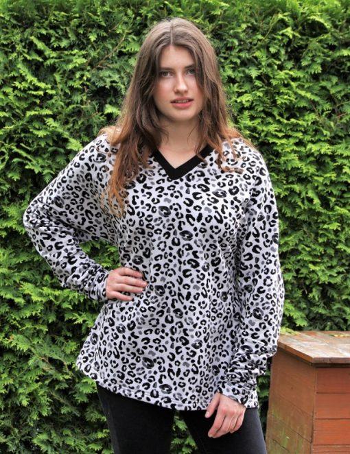 Schnittmuster Shirt Hoodie Raglan Simone3