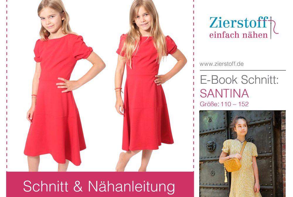 Midi Kleid Santina – jetzt für Damen und Kinder