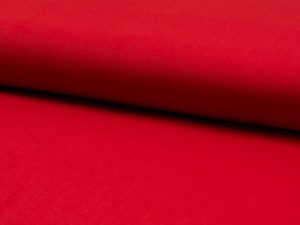 Baumwollstoff, unifarben Rot – leichte Sommerqualität